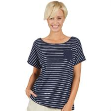 Jack Wolfskin Travel Striped T Shirt atmungsaktiv