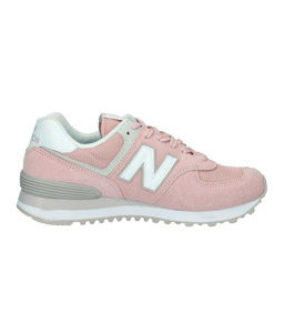 Sneaker von New Balance in rosa.