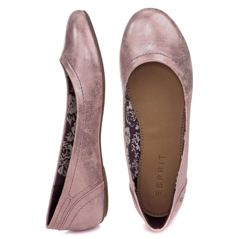 Esprit-Ballerina-metallic rose