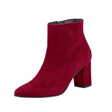 Paul Green Stiefelette in bordeaux