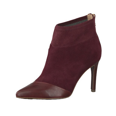 Tamaris Stiefelette in bordeaux